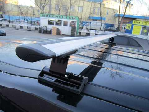 Багажник Интер С-15 в штатные места с крыловидной поперечиной 120 см.