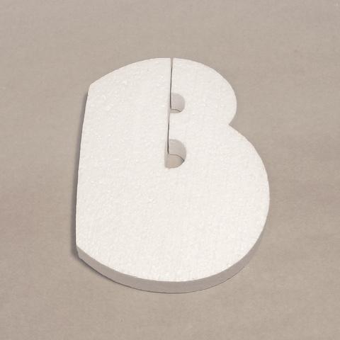 Буква В шрифт BeeskneesC