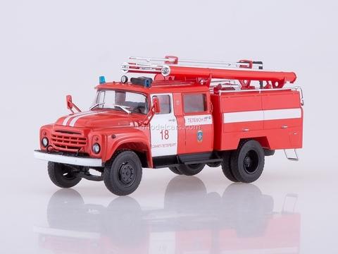 ZIL-130 AC-40 St. Petersburg fire truck tanker 1:43 AutoHistory