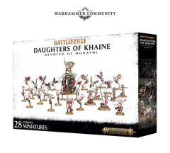 Battleforce Daughters of Khaine Devoted of Morathi