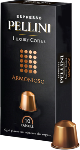Кофе в капсулах Pellini Armonioso (10 шт.)