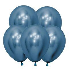 S 12 Зеркальные шары Рефлекс Синий / Reflex Blue / 12 шт. /