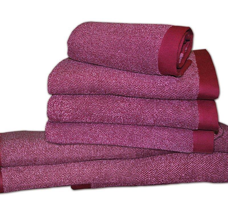 Наборы полотенец Набор полотенец 2 шт Caleffi Melange розовый elitnye-polotentsa-mahrovye-melange-ot-caleffi-italiya.jpg