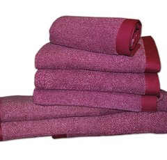 Набор полотенец 2 шт Caleffi Melange розовый