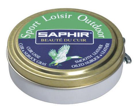 Воск для гладкой кожи, жированной кожи и нубука, sphr0724_Sport Saphir Sport Loisirs, 100 мл (2 цвета)