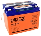 Аккумулятор Delta GEL 12-33  ( 12V 33Ah / 12В 33Ач ) - фотография
