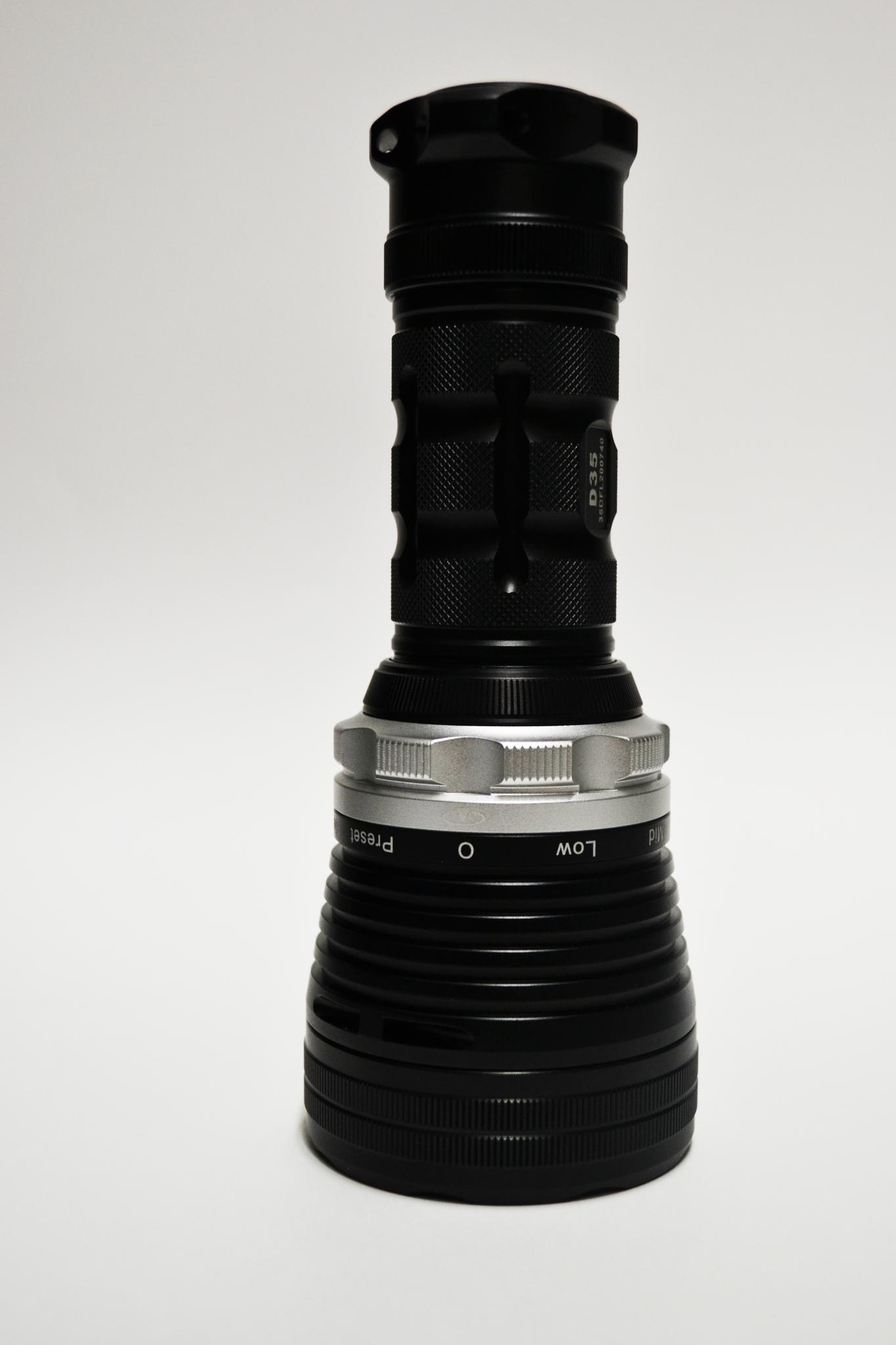 Подводный фонарь XTAR D35