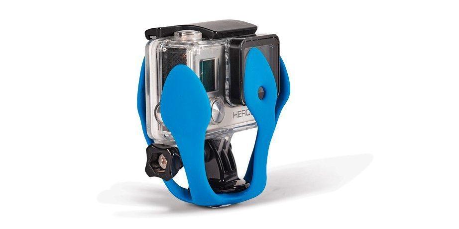 Штатив для экшн-камер Miggo Splat в сложенном виде + камера