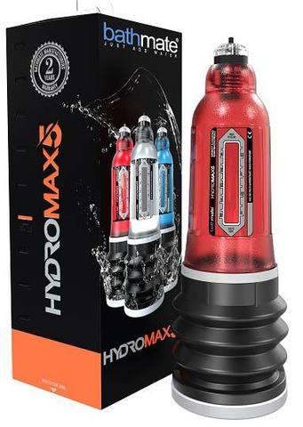 Bathmate HydroMax5 гидропомпа для мужчин (красная) (ранее Hydromax X20)