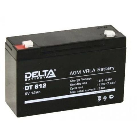 DT 612 аккумулятор 6В/12Ач Delta