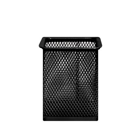 Подставка для канцелярии Metallic Square Black