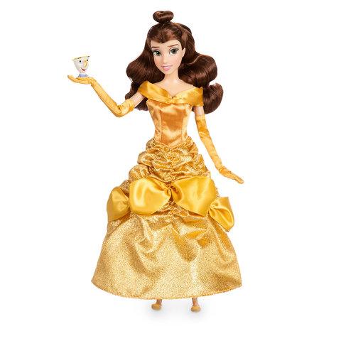 Кукла Белль (Belle)  Красавица и чудовище Перевыпуск с чашкой - Beauty and the Beast, Disney