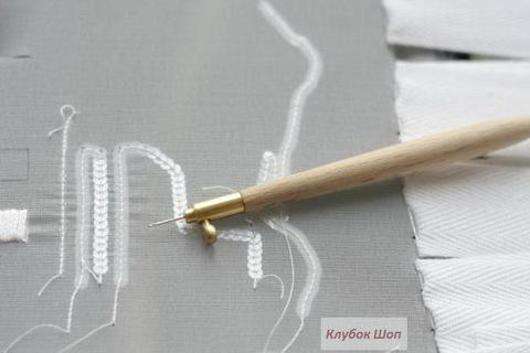 Люневильский крючок для вышивания