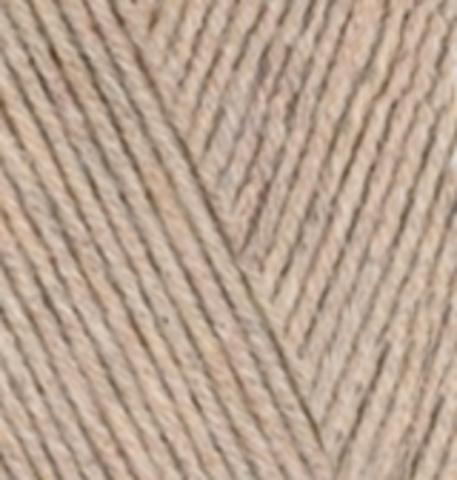 Пряжа Alize Cotton Gold бежевый меланж 152