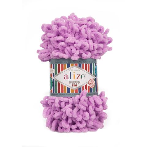 Купить Пряжа Ализе Пуффи Файн Код цвета 378 | Интернет-магазин пряжи «Пряха»
