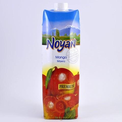 Нектар манговый с мякотью Noyan, 1л