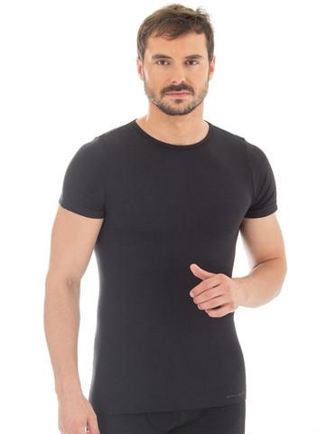 Термобелье мужское Brubeck Comfort Wool термофутболка черная