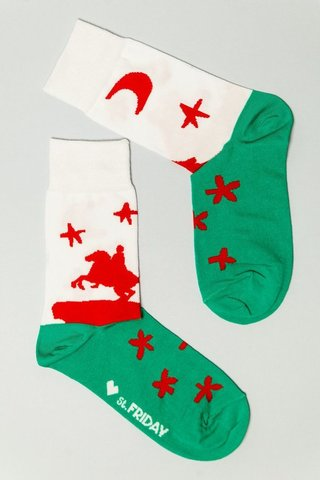 St.Friday Socks Медный всадник