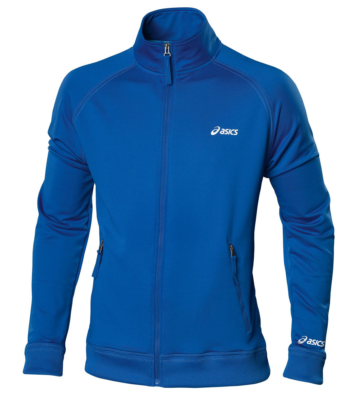 Мужская толстовка Asics Track Jacket (421900 8028) синяя