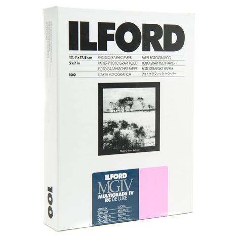 Фотобумага Ilford Multigrade IV RC De Luxe Glossy 5