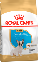 Корм для щенков собак породы французский бульдог, Royal Canin French Bulldog Junior