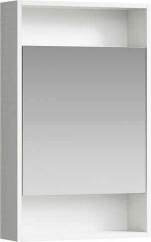 Сити Шкаф-зеркало 50 см, цвет дуб канадский, SIT0405DK