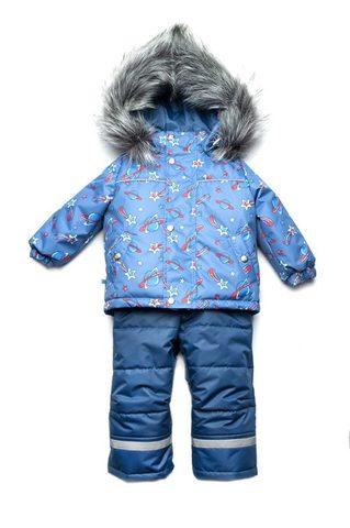Зимний комбинезон-костюм для мальчика Космос