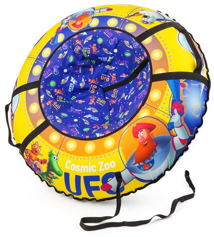 Тюбинг Cosmic Zoo UFO «Капитан Клюква» жел