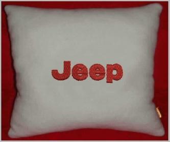 Подушка автомобильная с логотипом JEEP