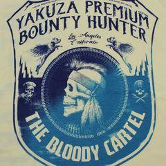 Футболка светло-желтая Yakuza Premium 2707