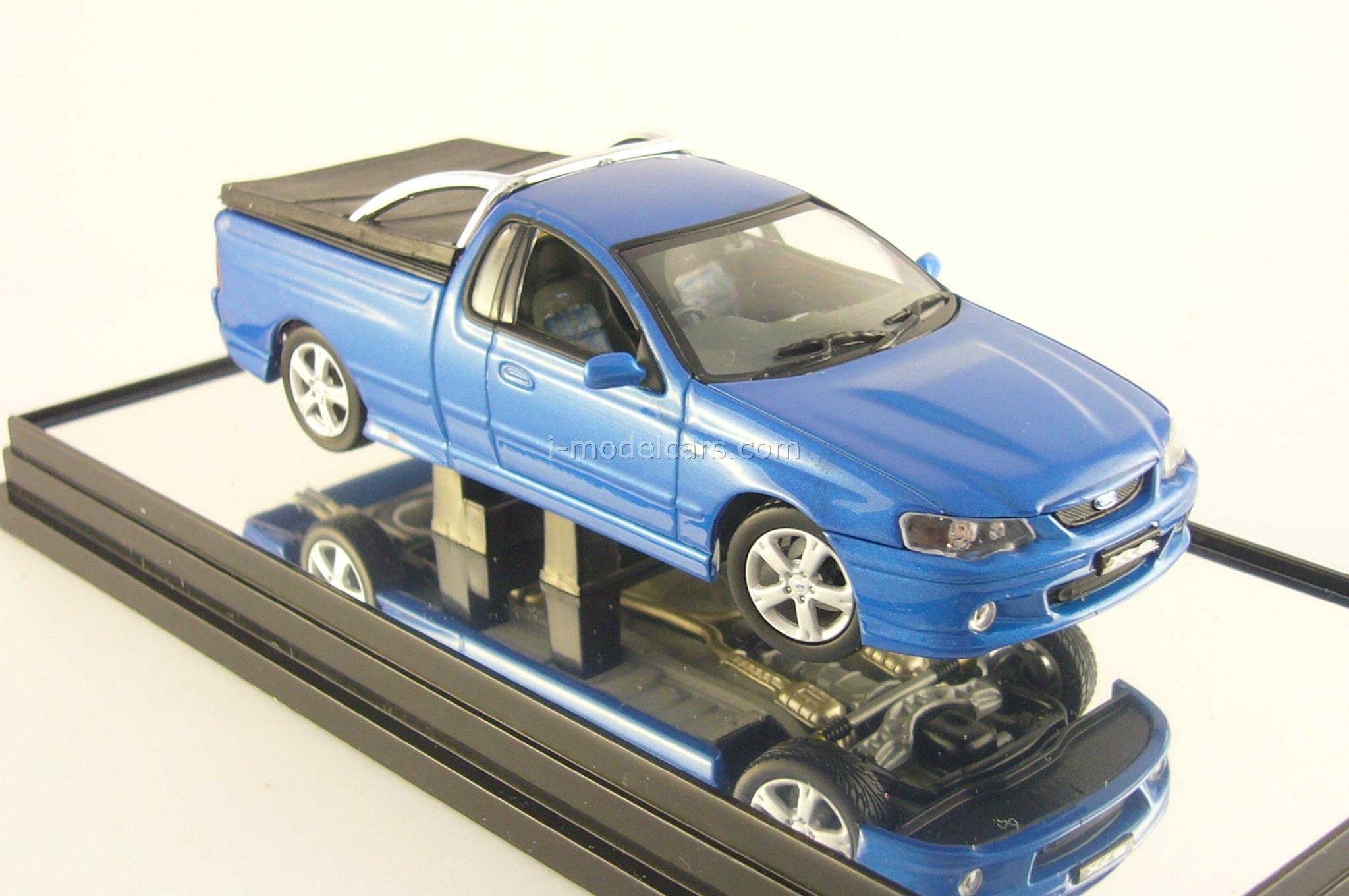 MODEL CARS Ford Falcon BA XR8 UTE blueprint Classic