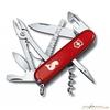Нож перочинный Victorinox Angler 91мм 18 функций красный с лого Рыба (1.3653.72)