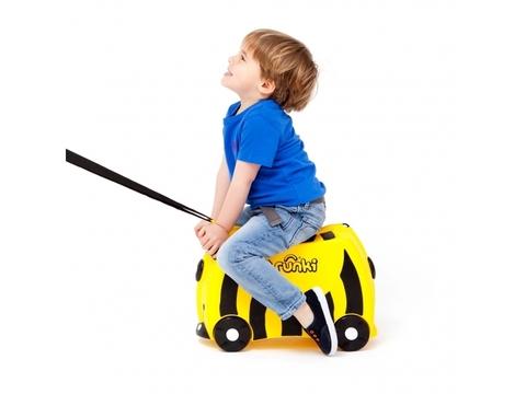 Детский чемодан на колесах Пчела, Trunki