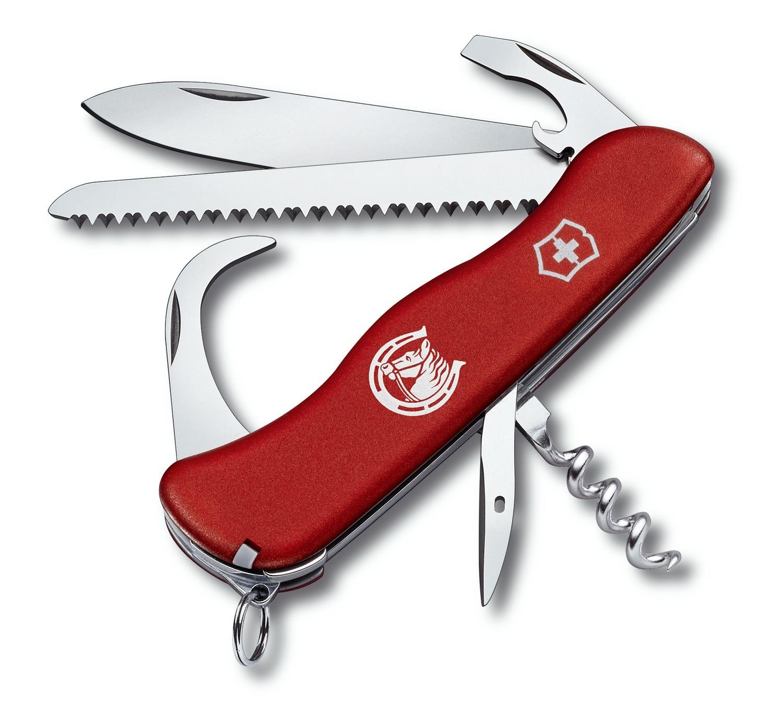 Складной нож Victorinox Equestrian (0.8883) 111 мм., 13 функций, красный