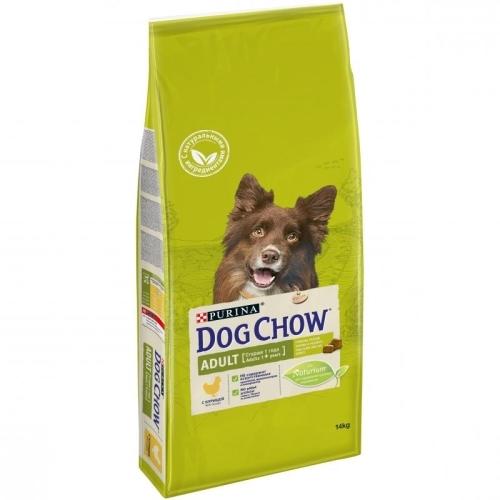Purina Dog Chow Сухой корм для взрослых собак, Purina Dog Chow Adult, с курицей 14_с_курицей.jpg
