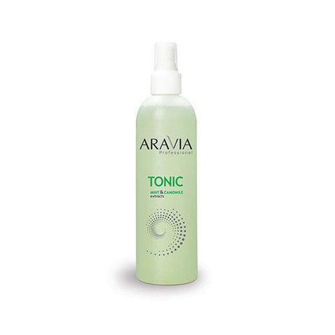 Тоник Aravia Professional для очищения и увлажнения кожи с мятой и ромашкой 300мл