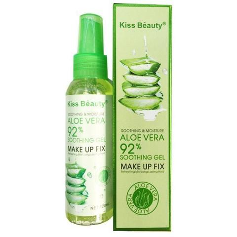 Фиксатор макияжа Kiss Beauty Aloe vera Make Up Fix 92 %