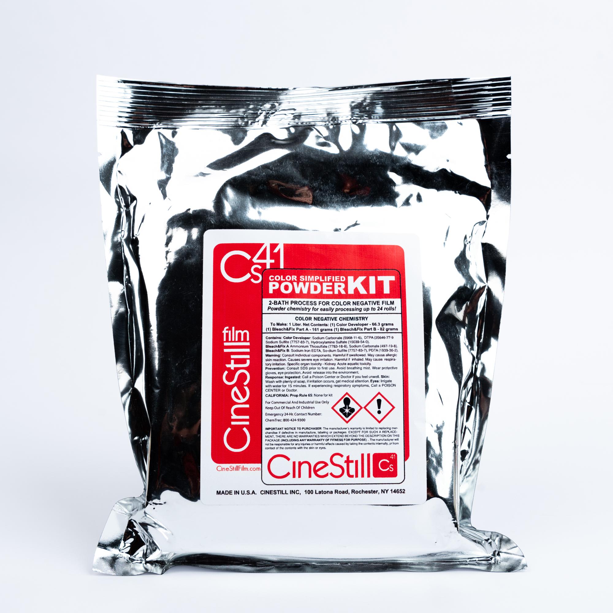 Набор для проявки цветных пленок Cinestill Cs41 Color Silmplified Kit Powder (на 1 литр)