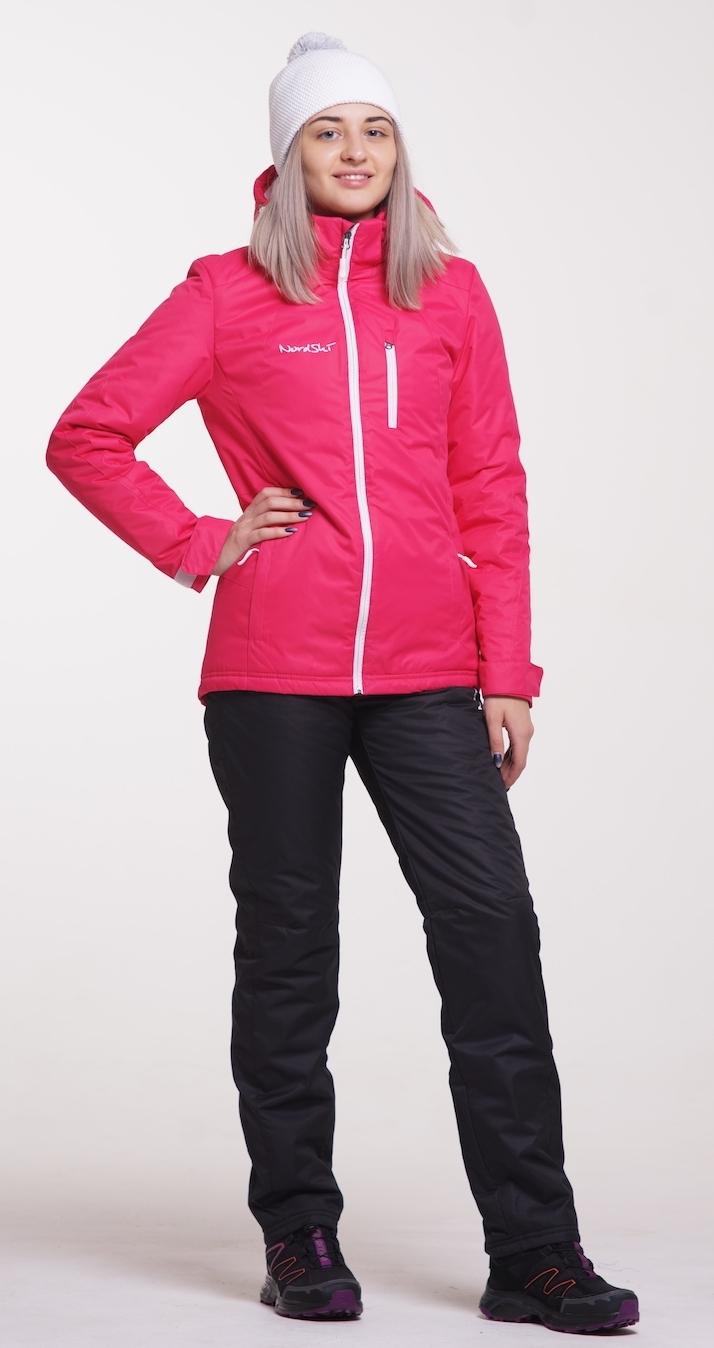 471db98421650 Женский утеплённый прогулочный лыжный костюм Nordski Active Raspberry