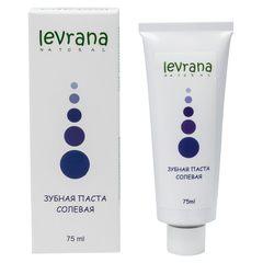 Зубная паста Солевая, 75ml TМ Levrana