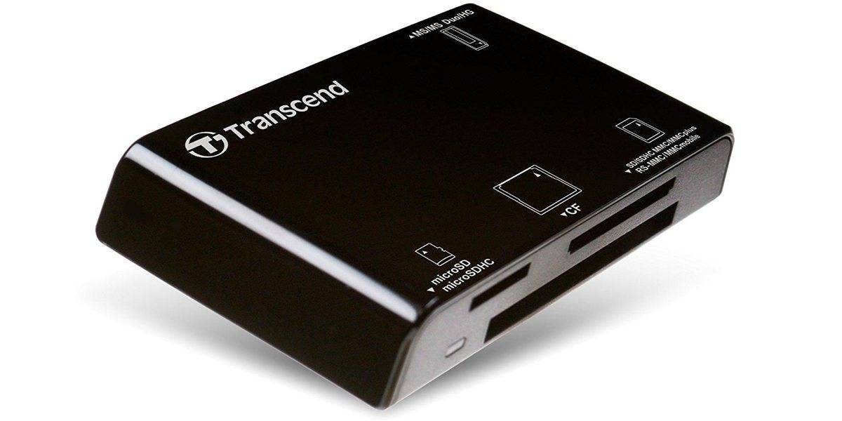 Transcend RDC8, all-in-1, USB 3.1
