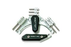 Слайдеры на крышки двигателя Yamaha YZF-R1 09-15, без грибков