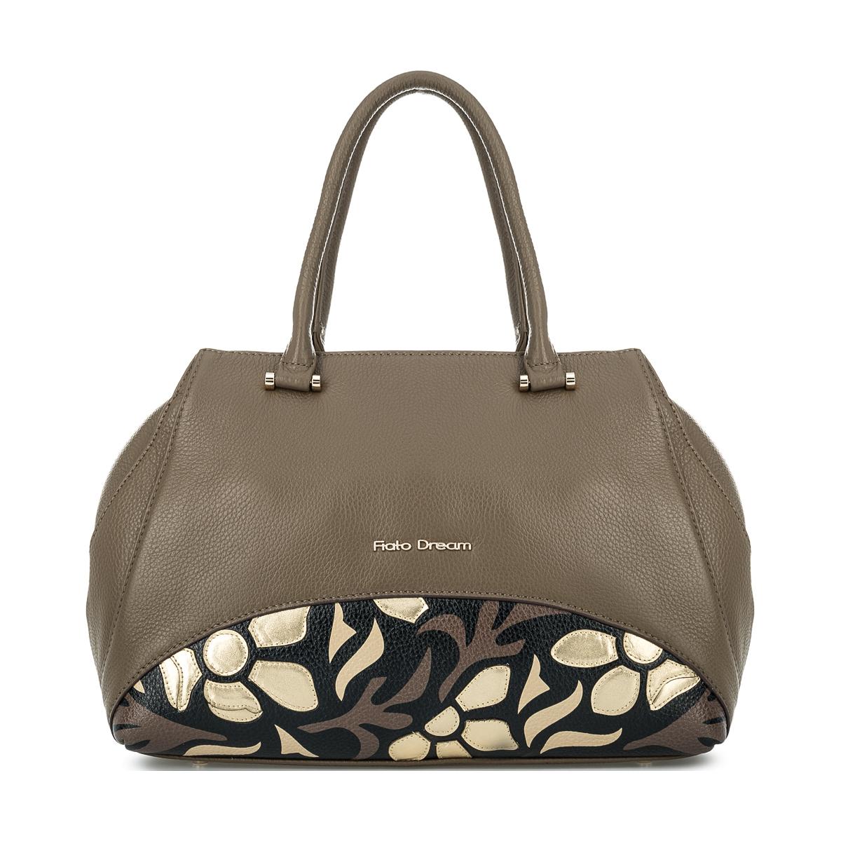 1011 FD кожа /фиори таупе (сумка женская)