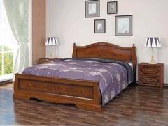 Кровать из массива Карина-2 (1600) орех
