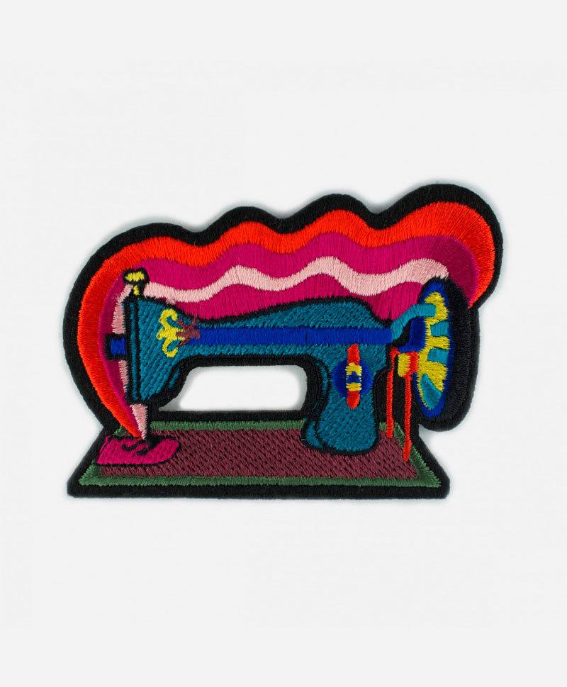 Патч-заплатка Sewing machine
