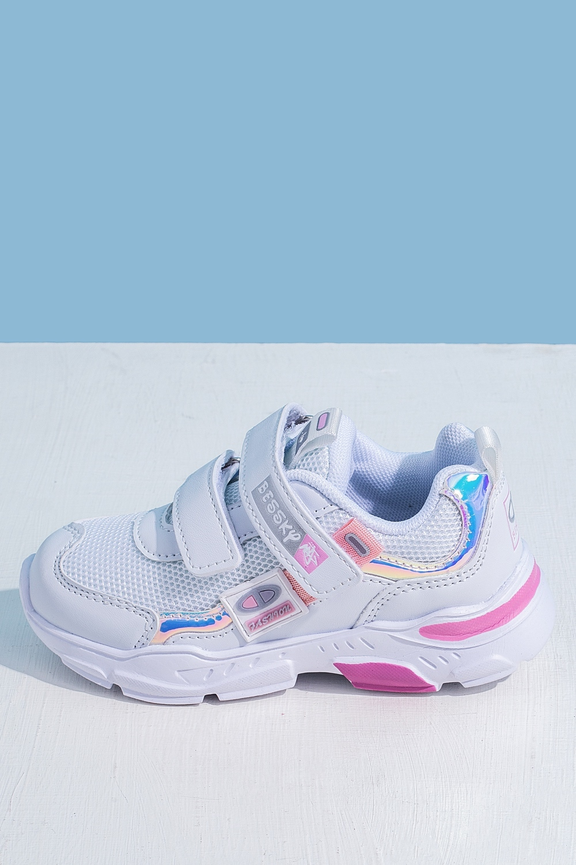 Кроссовки белые для девочки 201-0022-1