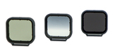 Набор фильтров PolarPro Venture 3-Pack HERO 5/6/7 Black вид спереди