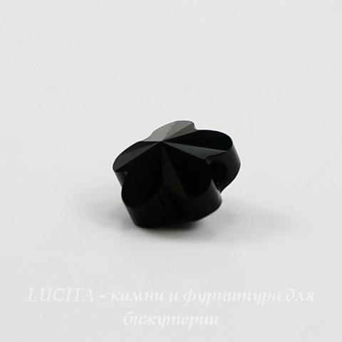 5744 Бусина в виде цветка Сваровски Jet 8 мм ()