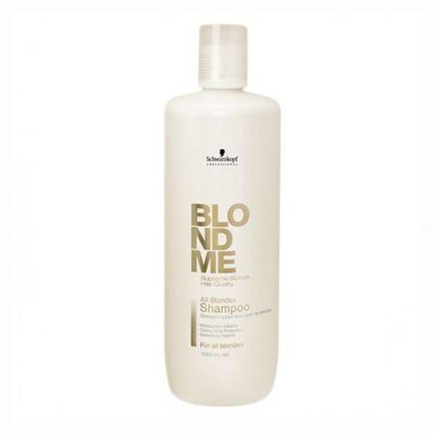 Шампунь для всех оттенков волос блонд BLONDME SCHWARZKOPF, 1000 мл.