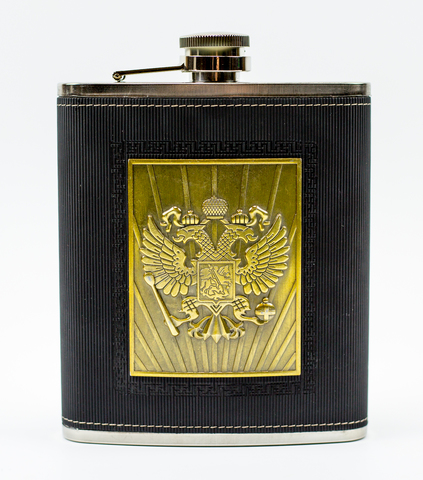 Фляга Герб Российской империи, 430 мл
